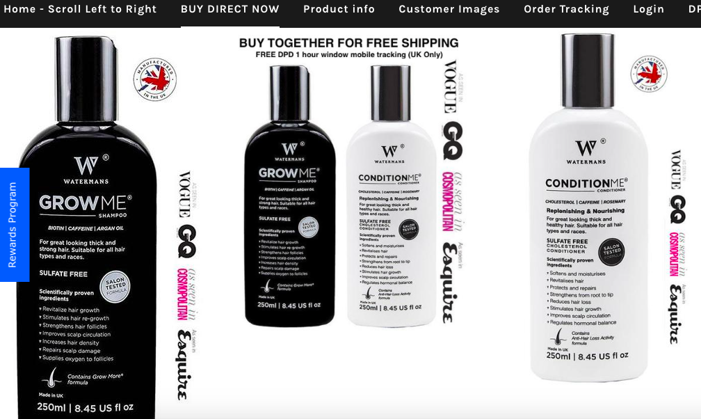 watermans-luxury-hair-growth-shampoo-and-conditioner-a-complete-review-from-results-before-and-after-photo-hair-growth-treatment-system-growme-conditionme-hairloss-restoration-reviews